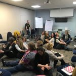 Interactive exercises form a key part of the workshops
